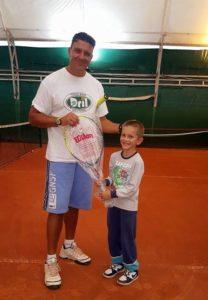 Petar Dušanović trener teniskog kluba Dril