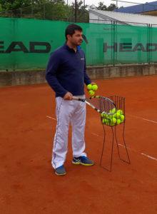 Slobodan Ranković trener u teniskom klubu Dril