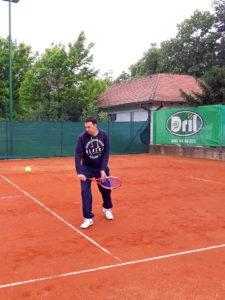 Veljko Barjaktarović, teniski trener tk Dril