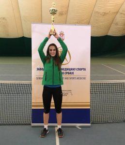 Natalija Senić teniski klub Dril