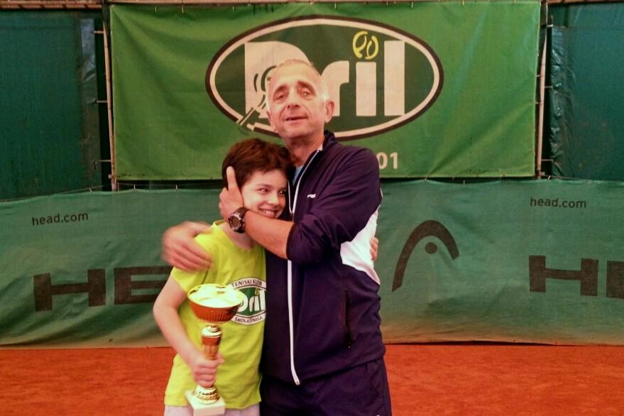 Stefan Rajičić i Dragan Ilić teniski klub Dril Beograd