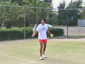 Petar Dužanović, trenet teniskog kluba Dril