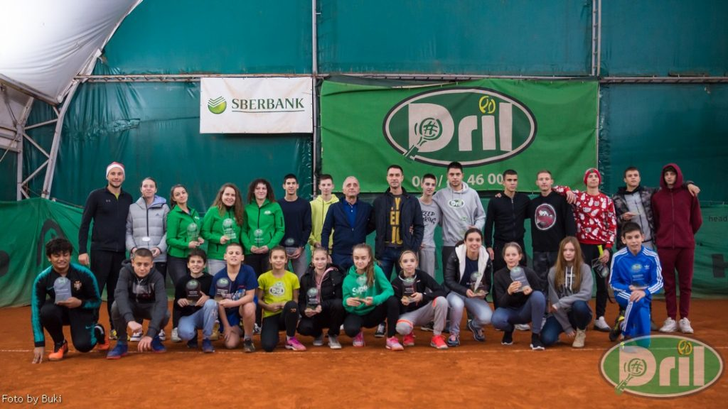 Teniski klub Dril novogodišnja fotografija