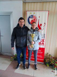 Slobodan Ranković i Ana Savković teniski klub Dril Beograd