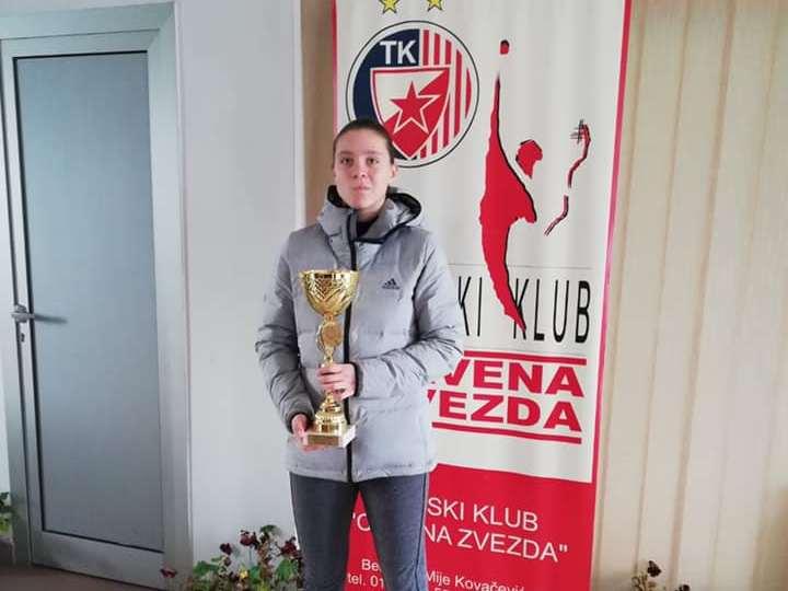 Ana Savković osvojila svoj prvi međunarodni turnir