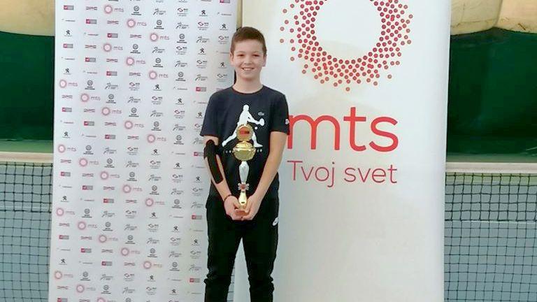 Naš Lazar 3. na dvoranskom prvenstvu Srbije