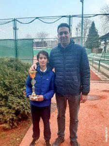 Ognjen Milić i Veljko Barjaktarović teniski klub Dril Beograd