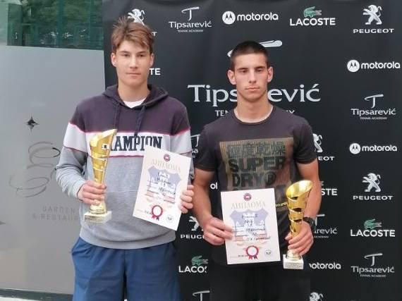 Mihailo Savić i Leon Nikolić Finalisti TA Tiparević