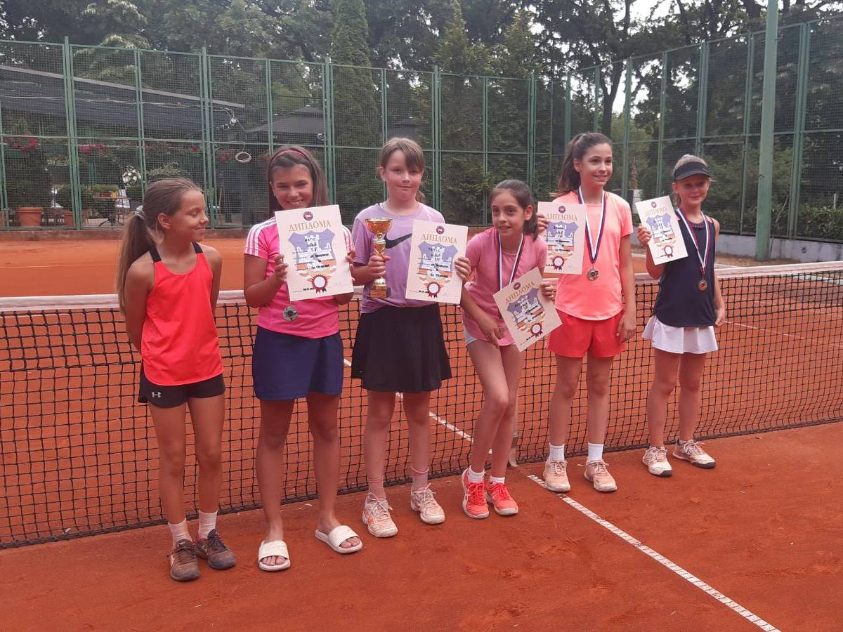 Teniski Klub Dril 2. mesto